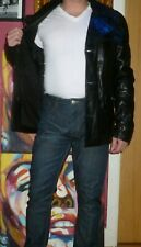Men's Versus Versace lambs leather short coat gay interest