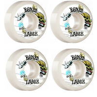 Bones Skateboard Wheels 56mm Lasek Tortoise and Hare P5 Sidecut SPF 84B (104A)