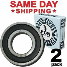 6003-2RS Premium Rubber Sealed Ball Bearing, 17x35x10, 6003rs (2 QTY)
