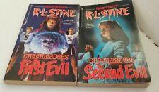RL Stine Fear Street Books Lot CHEERLEADERS Lot Of 2 Paperback