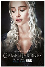 Game Of Thrones Season 5 TV Shows Silk Poster 13x20 inch Daenerys Targaryen 026
