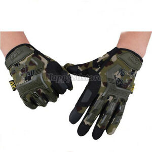 NEW MECHANIX M-PACT TACTICAL GLOVES SPORTS RACE ARMY MILITARY SHOOTING WEAR