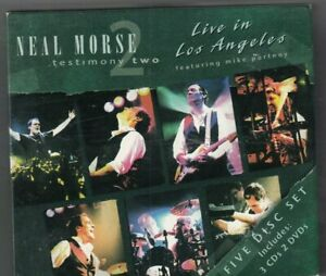 Neal Morse - Testimony Two: Live in Los Angeles (3 CD, 2011) 3CD+2DVD