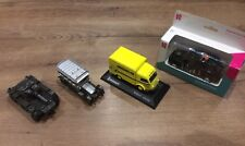 4 Vintage Model Vehicles Olympics Taxi/ Michelin Truck/ Corgi Rolls Royce/ Tank