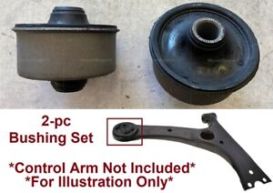 2pSet Heavy Duty Bushing fit Front Lower Arms Toyota Matrix 03-13 Corolla 03-18