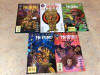 MR HERO THE NEWMATIC MAN  #8,9,10,11,12  LOT OF 5 NM COMIC 1995-1996 TEKNO