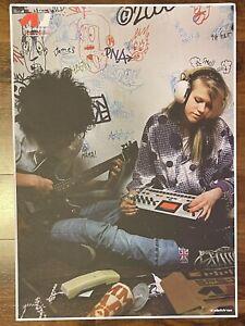 Elektron Original Poster - Machinedrum Boy Girl - ULTRA RARE