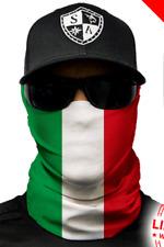 ITALIAN FLAG ITALY Tubular Bandana Face Shield Sun Mask Balaclava