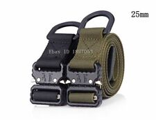 "1"" 25mm 38mm Metal Belt Buckle Adjustable Quick Release Web Tactical Waist Strap"