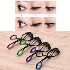 New Plastic Grip Eyelash Curler Tweezers Eyelashes Extension Rollers Clip