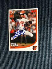 Gabriel Ynoa (Baltimore Orioles) Autographed Team Photo Postcard