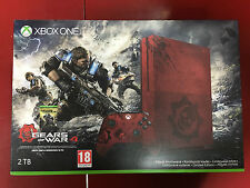 Microsoft Xbox One S Gears of War 4 Limited Edition Bundle 2TB Crimson Red Console
