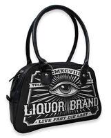 Angebote Liquor Brand Damen EYE Handtasche/Bags.Tattoo,Pin up,Rockabilly Style