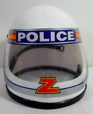 GREEK VTG 80's PLASTIC SPECIAL POLICE Z FORCE HELMET FOR KIDS MADE IN GREECE