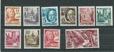 WURTTEMBERG-GERMANY 1948 SET Mi 28-37 MNH**