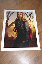 Melissa Etheridge signed autógrafo en 28x35 cm periódico foto inperson Look