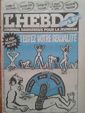 L' HEBDO HARA-KIRI N°4 du 12 août 1981 - Testez votre sexualité