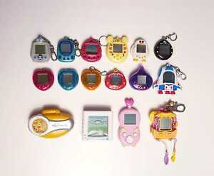 --VIRTUAL PET COLLECTION-- Electronic Toy Tamagotchi Tiger Bandai RARE