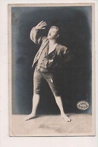 Carte Postale Vintage Christensen As Peer Gynt Norvégien Acteur H. Abel Photo