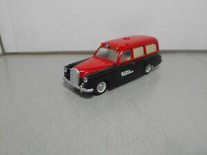 TEKNO OF DENMARK MERCEDES BENZ 220 Ambulance 731/32 red black vintage classic