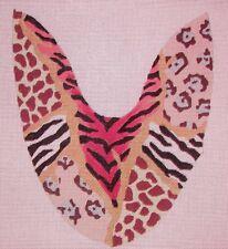 JG African Sandal Slide Mule Pair Handpainted HP Needlepoint Shoe Canvases