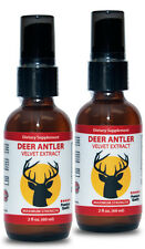 Deer Antler Velvet Liquid Extract - Natural Testosterone Booster - 120ml