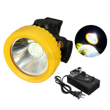 Miners Cordless Power LED Helmet Light Safety Head Cap Lamps Torches 4500 LUX AU