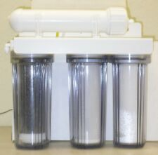 Aquarium Reef Reverse Osmosis RO/DI COLOR CHANGING System 5 Stage 150 GPD & UV
