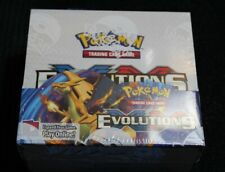 Pokemon TCG XY Evolutions Factory Sealed Booster Box 36 Packs 10 Cards in Each!