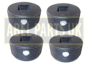 JCB PARTS- 3CX PLASTIC WEAR PAD FOR JACK LEG STABILISER SET OF 4 PCS (123/07665)