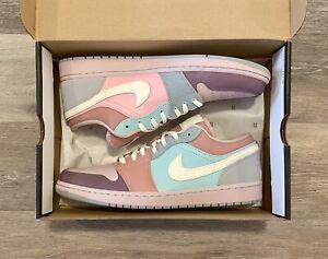 Nike Air Jordan 1 Low SE Easter Pastel Champagne Coconut Milk DJ5196-615 Mens 12