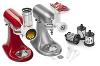 KitchenAid Stand Mixer Attachment Bundle: FRESH PREP & Food Grinder/Sausage Stuf