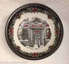 Royal Stafford CHRISTMAS HOME Serving Bowl ~ Made in England