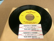 THE MOM AND DADS THE BLUE  SKIRT WALTZ ~ QUENTIN'S E BOOGIE W/ STRIP S 7 45   P
