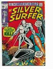 SILVER SURFER 17 - QUALIFIED F/VF 7.0 - MEPHISTO - NICK FURY - SHALLA BAL (1970)