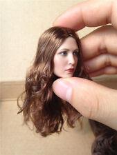 1:6 Female Head Sculpt Captain America ⅢScarlet Witch 3.0 F 12'' Figure