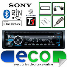 Peugeot 206 Sony Cd Mp3 Usb Bluetooth Manos Libres Ipod Iphone Radio estéreo kit