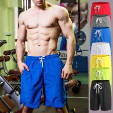 Men Stylish Loose Fitness Shorts Drawstring Quick-Dry Basketball Workout Shorts