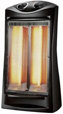 Konwin Infrared Quartz Tower Heater 1500W Black TQH-06