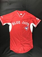 BLUE JAYS Men's Red/White Special CANADA DAY Edition Jersey #15 Size XL