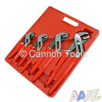 "4 Piece Adjustable Head Water Pump Pliers Set 6""/8""/10""/12"" Inch Plier Tool"