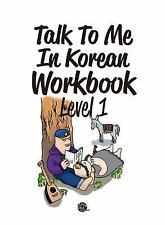 TALK TO ME IN KOREAN LEVEL 1