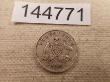 1936 Australia Three Pence - Unslabbed Collector Grade Album Coin - # 144771
