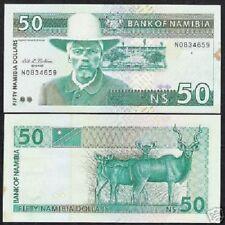 NAMIBIA 100 DOLLARS P-3 1993 ORYX RARE UNC ANIMAL NAMIBIAN MONEY BILL BANK NOTE