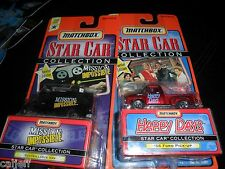 2 LOT MATCHBOX STAR CAR COLLECTION MISSION IMPOSSIBLE & HAPPY DAYS 1956 TRUCK