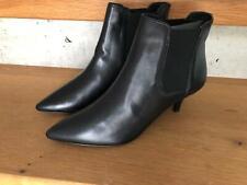 ODEON -Absatz Boots Stiefeletten Leder in schwarz  NEU Gr 38 S180D