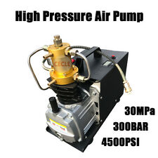 High Pressure Electric Pump PCP Air Compressor for Paintball Air Rifles110V