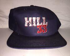 Vtg Grant Hill Detroit Pistons Fila Snapback hat cap 90s NBA Basketball Nwot c90c502204b0