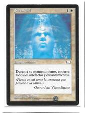 SERENIDAD Weatherlight Magic Vientoligero Español NM Serenity MTG