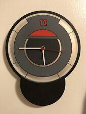 diamantini domeniconi 80s vintage modern Postmodern Memphis Era Italy Clock